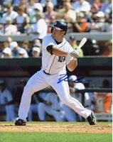 TYLER COLLINS SIGNED 8X10 PHOTO TIGERS COA