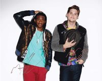 MKTO In-person Autographed Photo Great color group photo autographed by Malcolm Kelley and Tony Oller. Their debut single, Thank You, was released in January 2013. The follow up single, Classic, was released in June 2013. MKTO's self-titled debut album was released on January 30, 2014.