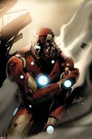 Invincible Iron Man No.33 Cover: Iron Man Standing