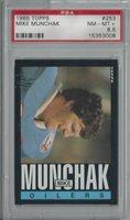 1985 Topps Mike Munchak Rc PSA 8.5