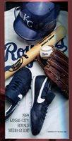 Baseball Media Press Guide Kansas City Royals 1989 George Brett HOF