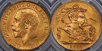 1927 Pretoria Sovereign - PCGS MS64+ 1927 Pretoria Sovereign