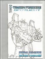 Transformers Spotlight Ultra Magnus (2007) RI SKETCH VARIANT!! HIGH GRADE!!