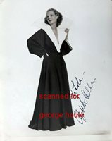 ELIZABETH ALLAN - PHOTOGRAPH - SIGNED - - MARK OF THE VAMPIRE - COPPERFIELD