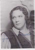 HILDE KONETZNI opera soprano signed photo as Leonore in Fidelio