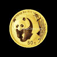 2001 1/10 oz Gold Panda Coin