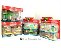 Nintendo Super Mario Bros U DELUXE SET (2) + REGULAR SET(4)-ALL IN ONE!-GIFT