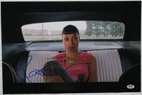 Rosario Dawson Signed Death Proof Authentic Auto 12x18 Photo PSA/DNA #Z79685