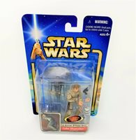 Star Wars Luke Skywalker Bespin Duel with Slashing Lightsaber Attack MIB