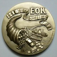 Greece 1979 Silver UNC Medal Greece entry to the European Economic Community !
