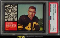 1962 Topps Football Preston Carpenter #131 PSA 6 EXMT (PWCC)