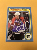 Mike Knuble Signed Philadelphia Flyers 08-09 OPC Retro Card