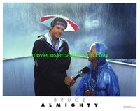 BRUCE ALMIGHTY LOBBY CARD size MOVIE POSTER JIM CARREY Card #8