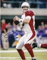 CARSON PALMER ARIZONA CARDINALS ACTION SIGNED 8x10