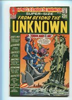 FROM BEYOND THE UNKNOWN #8 HI GRADE 9.0 STATUE OF LIBERTY COVER