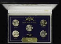 2008 United States Commemorative Gallery State Quarter Mint Set Denver (8488)