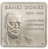 "2009 Hungary 1000Ft Issue ""Donat Banki"""