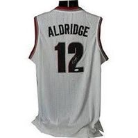 LeMarcus Aldridge Hand-Signed Jersey With Certificate Of Authenticity