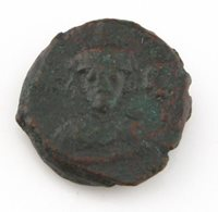 618-628 AD East Roman Byzantine Coin VF Kushru II Very Fine Sear#855 BMC#277-282