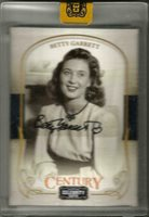 Betty Garrett 2008 Donruss Celebrity Cuts Black Ink Autograph #046/200