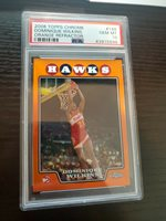 2008-09 Topps Chrome Refractors Orange #168 Dominique Wilkins /499 PSA 10 GEM MT