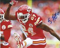 Brandon Flowers Kansas City Chiefs Signed 8X10 Photo Autographed PSA/DNA COA 84