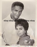 Original Photo Peyton Place Percy Rodriguez & Ruby Dee