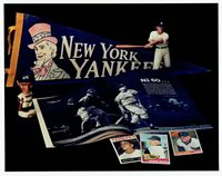 Roger Maris Unsigned New York Yankees Collage 8x10 Glossy Photo