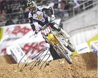 Davi Millsaps, Supercross, Motocross, Freestyle Motocross, Signed, Autographed, 8X10 Photo, a COA with the Proof Photo of Davi Signing Will Be Included