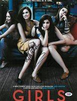 Lena Dunham/Allison Williams Signed Girls Autographed 11x14 Photo PSADNA#AC57906