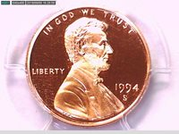 2003-S PCGS PR69DCAM proof Lincoln cent deep cameo red