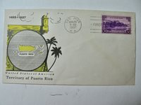1937 Puerto Rico First Day Cover