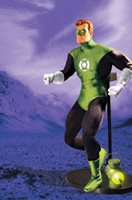 DC Deluxe Collectors 13 Inch Doll Figure - Green Lantern (Previously Opened and Displayed)