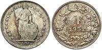 SWITZERLAND 1951-B 1/2 Franc -- #:WC70664