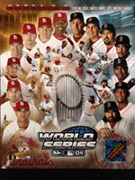 2004 WORLD SERIES Boston Red Sox / St. Louis Cardinals 8X10 PHOTO