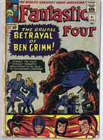 Fantastic Four #41 ORIGINAL Vintage 1965 Marvel Comics Frightful Four | Comic Books - Silver Age, Marvel, Fantastic Four