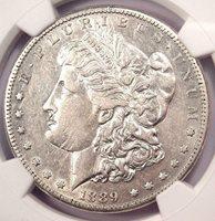 1889-CC Morgan Silver Dollar $1 - NGC XF40 (EF40) - Looks AU - $3,750 Value!