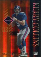 Leaf Limited Football 2003 Bronze Spotlight Parallel Card 65 Kerry Collins
