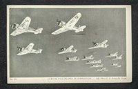 1937 Rangor Maine Planes in Formation US Army RPPC Cover to Worcester MA