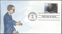 #3342 Franz Waxman Fox FDC (05619993342001)