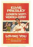 Rock N Roll Elvis Presley In LOVING YOU MOVIE POSTER 10x15 Inch Repro PHOTO