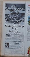 1971 magazine ad for Bobby Orr Hockey gear - photo of Orr and gear, Christmas ad