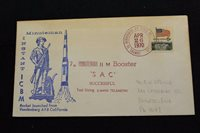SPACE COVER 1970 HAND CANCEL 7TH SAC MINUTEMAN II M S-BAND TELEMETRY LAU (2602)
