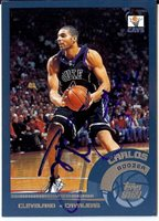 Carlos Boozer Hand-Signed Card With Certificate Of Authenticity