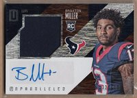 2016 Panini Unparalleled Braxton Miller Jersey Auto Rc Serial # to 199