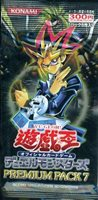 Yu Gi Oh! Japanese Premium 7 Booster Pack
