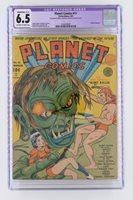 Planet Comics #11 - CGC 6.5 FN+ Fiction House 1941 - Last Don Granval - Sci-Fi!