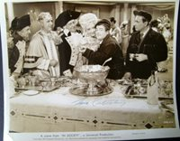 LOU COSTELLO (ABBOTT & COSTELLO IN SOCIETY) ORIG,VINTAGE AUTOGRAPH PHOTO