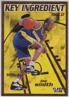 1997-98 FLEER KEY INGREDIENT GOLD: JOE SMITH #13 WARRIORS PLASTIC ACETATE INSERT