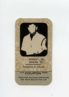 #TN00320 THOMAS A. HAINE Rare INVISIBLE INK Game Trading Card